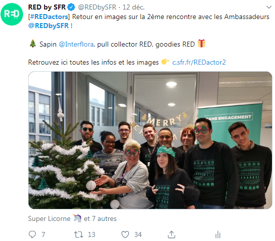 RED by SFR - Programme ambassadeurs